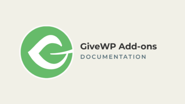 GiveWP Add-ons Documentation