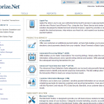 Authorize.net Dashboard