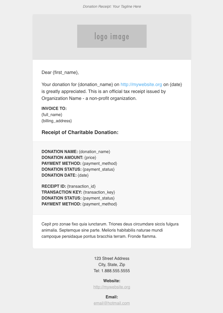 Give PDF Receipts Documentation – GiveWP Donation Plugin