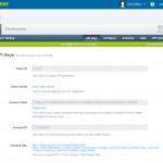 WePay API Keys