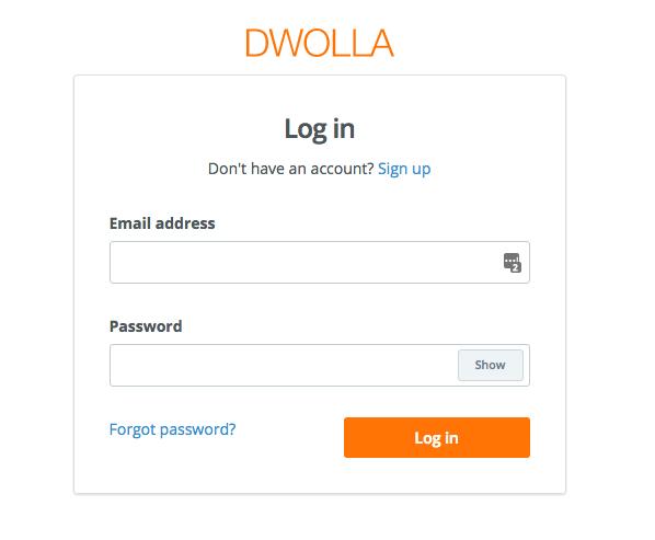 dwolla-login