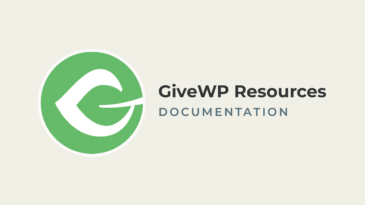 GiveWP Resources Documentation
