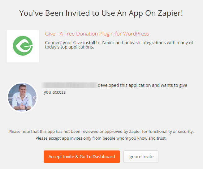 give-zapier-invite
