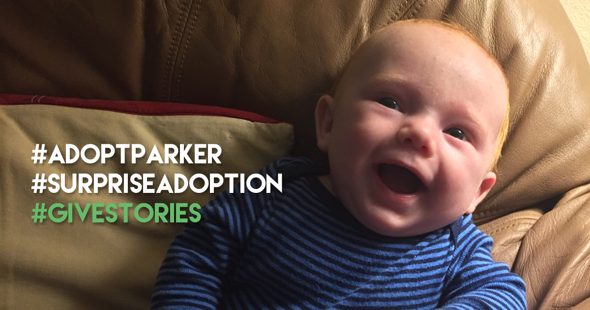Adopt Parker Give Story