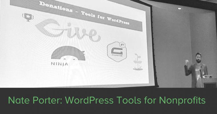 Nathan Porter breaks down tools for Nonprofits on the Give Blog