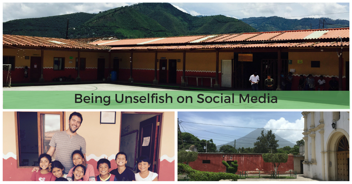 Being Unselfish on Social Media by Adam Fout of Blue Steele Solutions