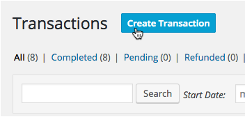 "The ""Create Transaction"" button."
