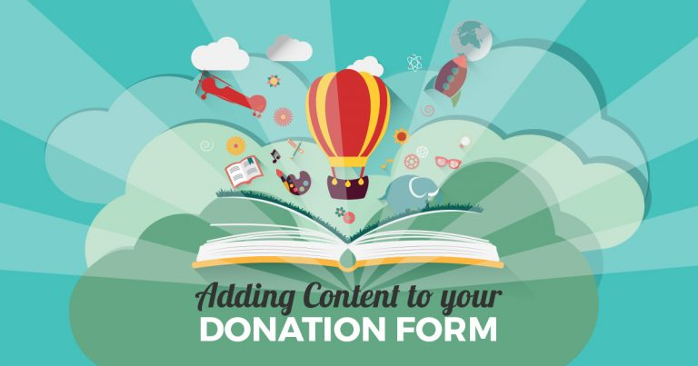 Properly done, adding persuasive content to individual Give forms can increase conversions and improve donor experience.