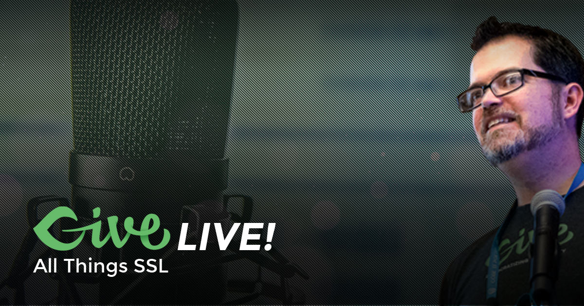 Give LIVE! All Things SSL