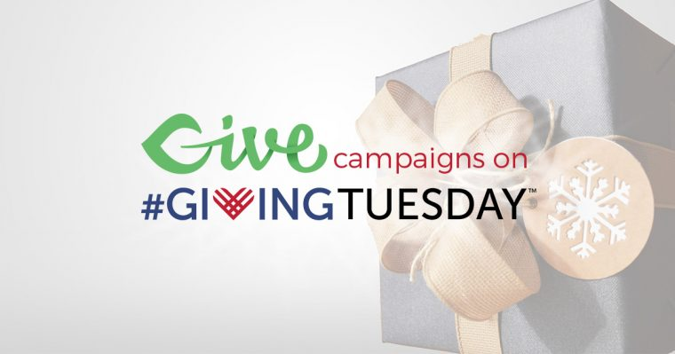 Give Campaigns on Giving Tuesday