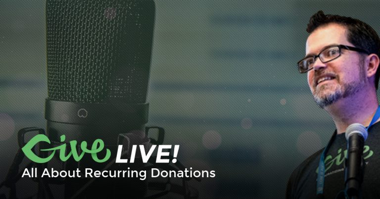 Give Live Recurring Donations