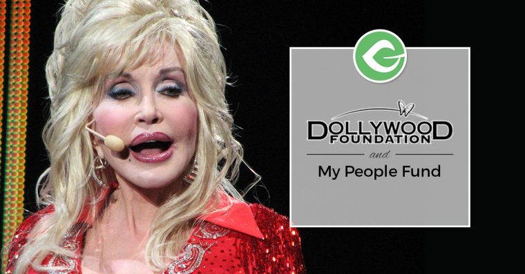 Nonprofits are usually a passion project and it's no different with the Dollywood Foundation, raising funds with Give.