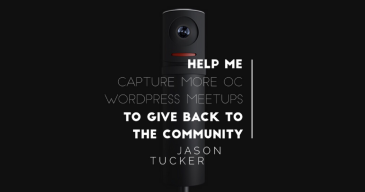 Sometimes it's the people who give to the community who feel uncomfortable asking. This Give Story is about crowdfunding the Mevo Camera.