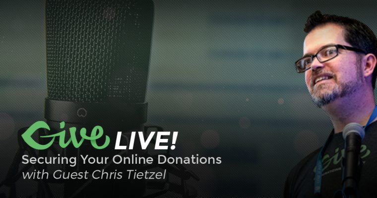 Give Live: Securing Online Donations