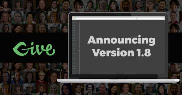 Announcing Give Version 1.8