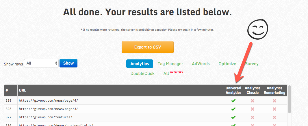 Google Analytics Checker