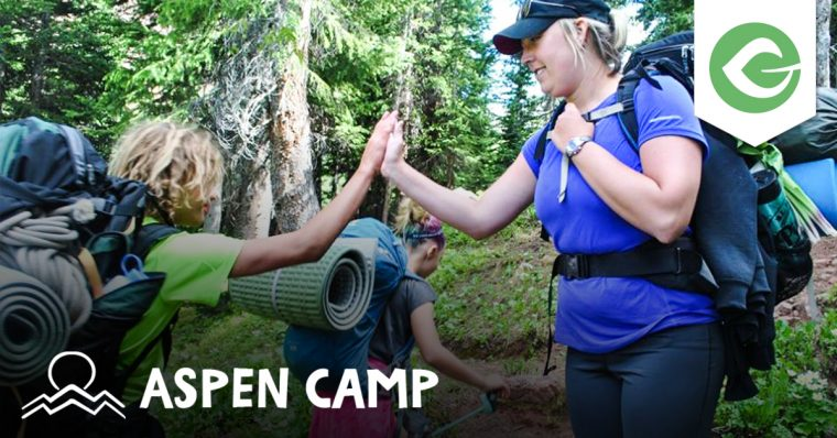 Give user, Aspen Camp gives deaf and hard of hearing children, youth, and adults the ability to break down communication barriers and build community.