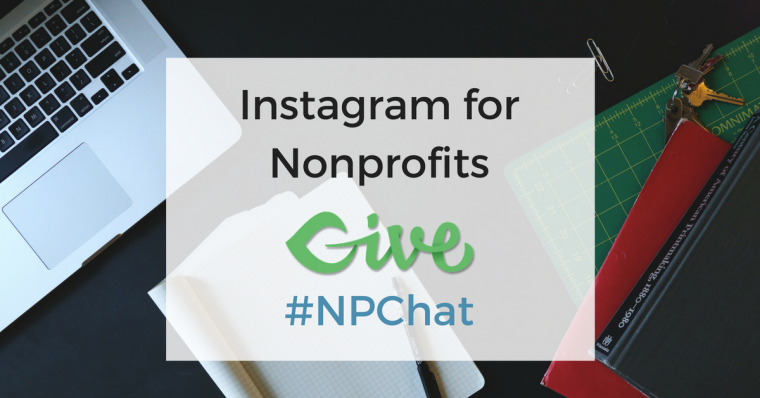 For our #NPChat Twitter Chat at 10:00 am Pacific on 4/12/17 we'll talk about using Instagram to build community around your nonprofit's cause as well as raising awareness through visual storytelling.