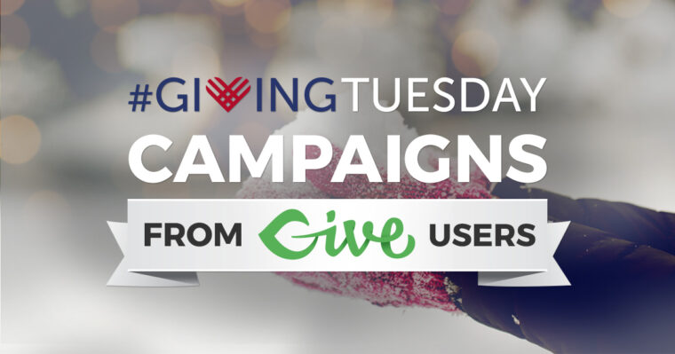 #GivingTuesday Campaigns from Give Users 2017