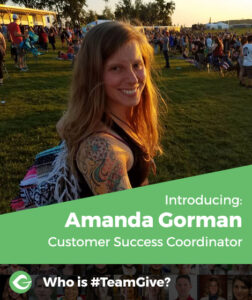 Introducing Amanda Gorman, Customer Success Coordinator
