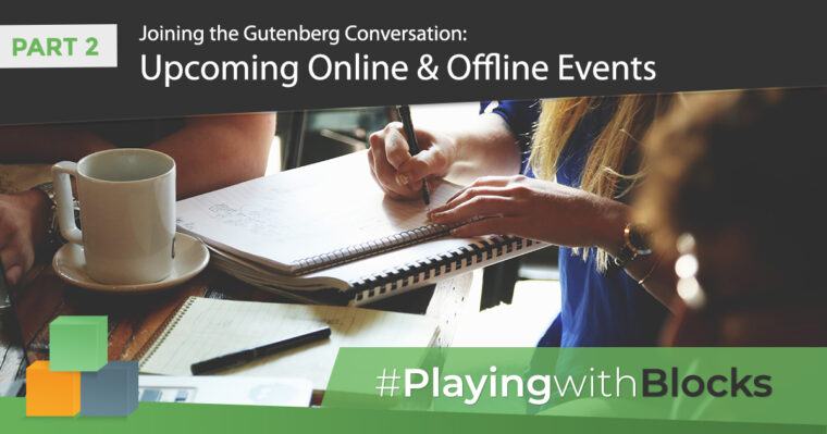 #PlayingwithBlocks Online and Offline Events
