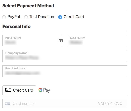 Stripe and Google Pay
