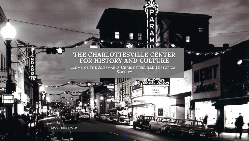 Charlottesville Historical Society Hero image