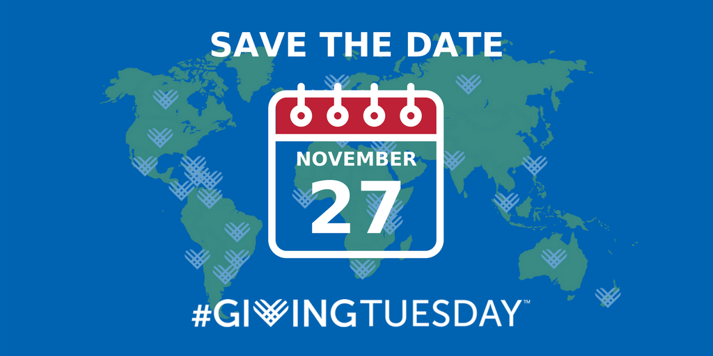 Giving Tuesday Save the date - twitter