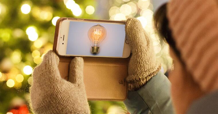 10-Fesitve-Holiday-Ideas lightbulb on screen