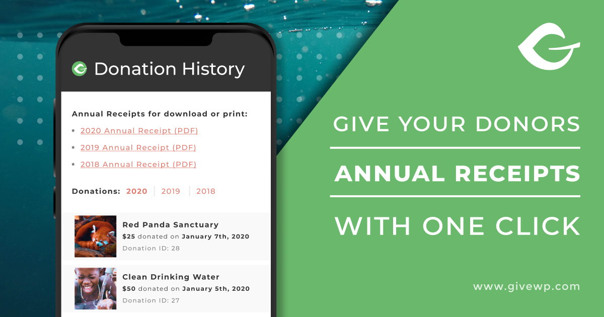 Annual Receipts - Featured Image