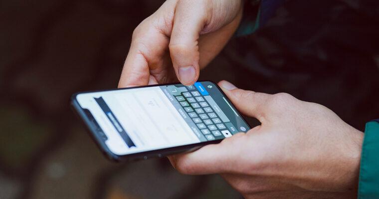 nonprofit communication text messages