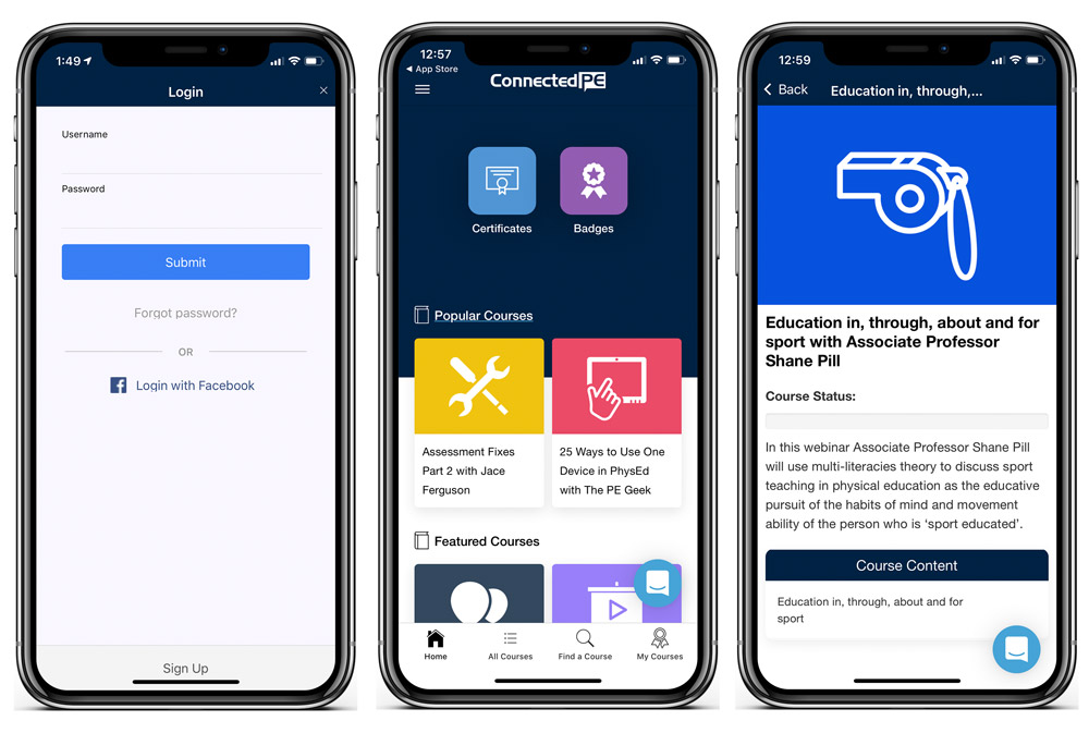 A membership application can be used to connect LMS to users on the go.