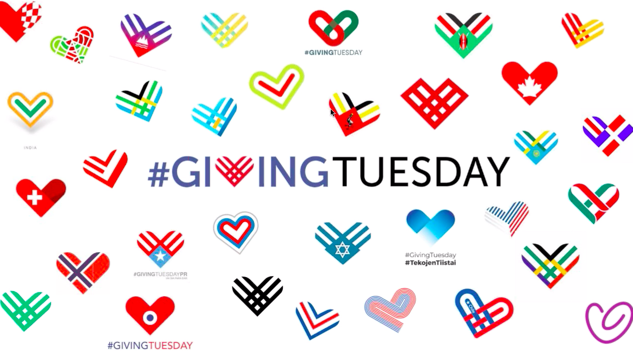 Image result for #GivingTuesday 2019 logos
