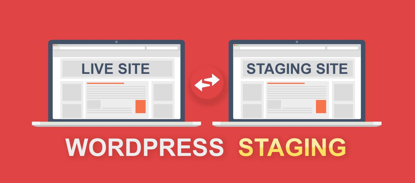 Use a staging site to test updates before implementing them on a live site