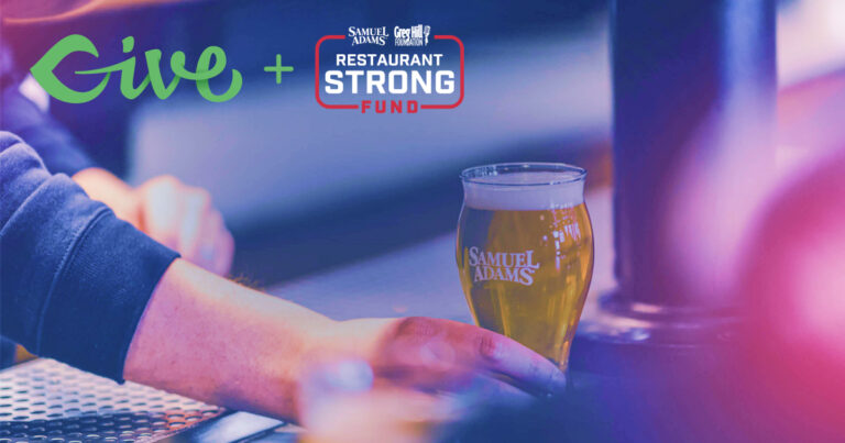 Sam Adams and Greg Hill Restaurant Strong GiveWP Story Featured Image
