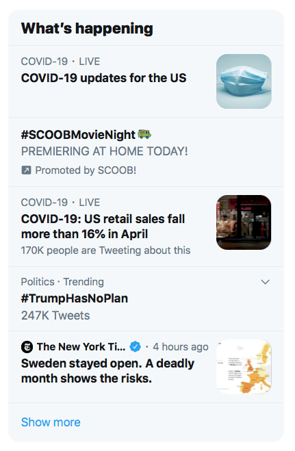 As the Coronavirus (COVID-19) Pandemic spread across the world, it became the most relevant topic for almost every kind of charitable organization. Monitoring trends for good places to pivot your messaging to make it more relevant and get it in front of more potential donors.