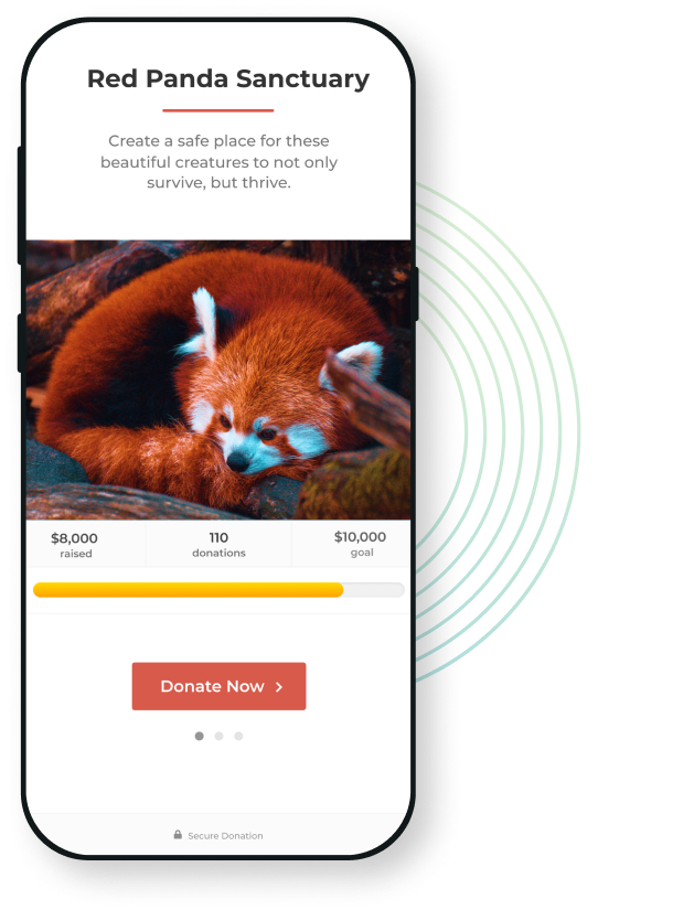 GiveWP WordPress donation forms look great on any device, for any cause.