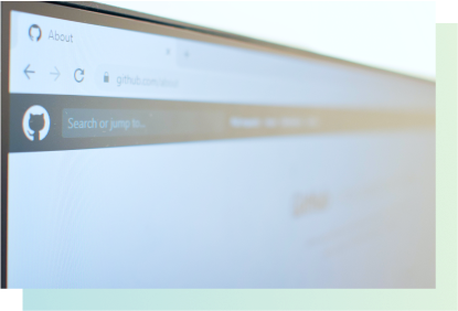 Github search bar.