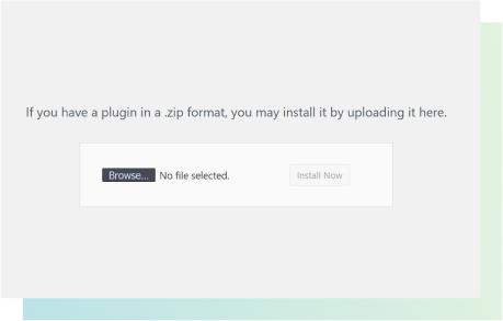 Upload your GiveWP add-ons using the .zip format upload field.