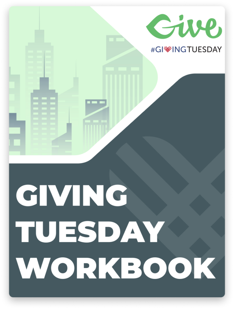 The GiveWP Giving Tuesday Workbook Cover Image.