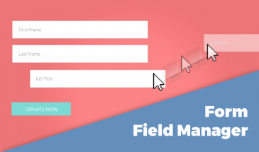 Form Field Manger add-on