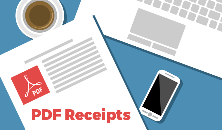 Give Add-on: PDF Receipts