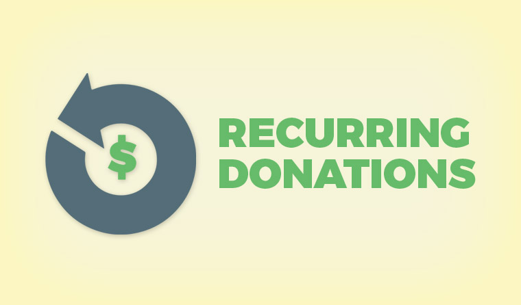 Give Add-on: Recurring Donations