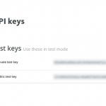 Paymill API Keys