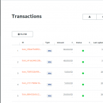 Paymill Dashboard Transactions