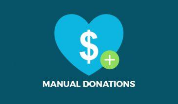 Manual Donations