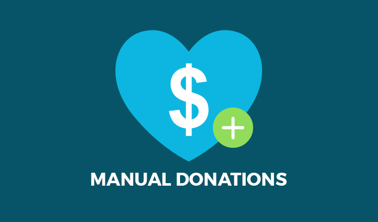 Manual Donations – GiveWP Donation Plugin for WordPress