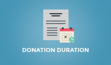 Donation Duration Add-on