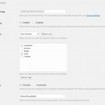 The ConvertKit Settings Page