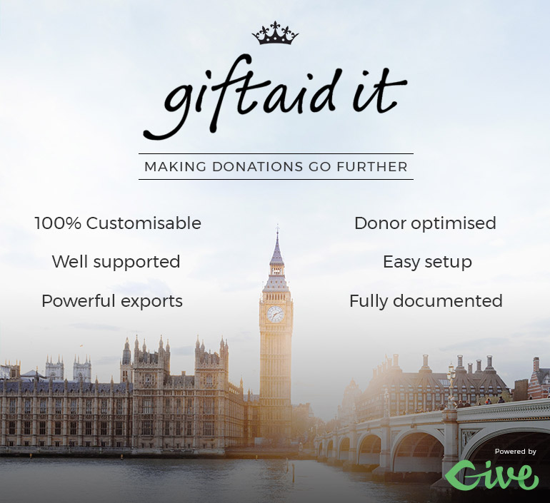 Gift Aid for GiveWP